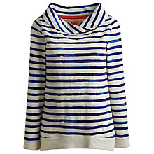 Buy Joules Wadeford Sweatshirt, Indigo Stripe Online at johnlewis.com