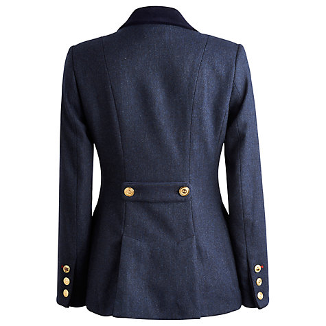 Buy Joules Parade Jacket, Cherry Chevron Navy Online at johnlewis.com