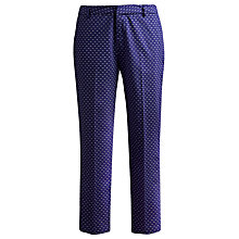Buy Joules Lia Trousers, Indigo Seagull Online at johnlewis.com