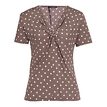 Buy Betty Barclay Short Sleeve Spot V Tee Online at johnlewis.com