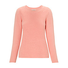 Buy Whistles Trapeze Cashmere Blend Jumper, Pink Online at johnlewis.com