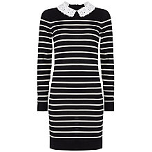 Buy Boutique by Jaeger Breton Dress, Multi Navy Online at johnlewis.com