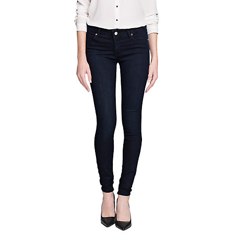 Buy Mango Super Slim-Fit Elektra Jeans, Dark Blue Online at johnlewis.com