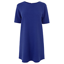 Buy Warehouse Textured Crepe Shift Dress Online at johnlewis.com