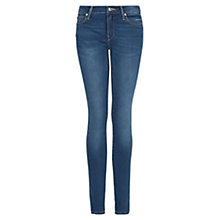 Buy Mango Super Slim-Fit Elektra Jeans, Medium Blue Online at johnlewis.com