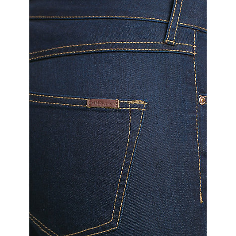 Buy Mango Slim-Fit Alice Jeans, Dark Blue Online at johnlewis.com