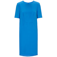 Buy Whistles Meghan Crepe Dress, Blue Online at johnlewis.com
