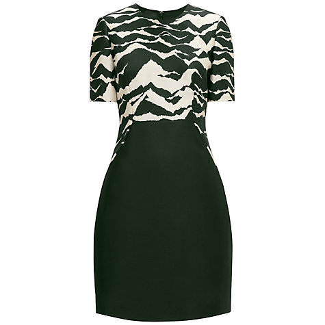Buy Whistles Mystic Mountain Dress, Black/White Online at johnlewis.com