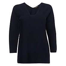 Buy Jaeger Pleat Back Top Online at johnlewis.com