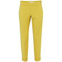 Buy French Connection Feather Light Trousers, Citronella Online at johnlewis.com