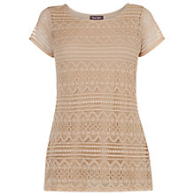 Buy Phase Eight Antique Lace Top, Antique Online at johnlewis.com