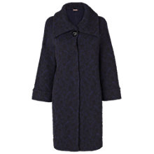 Buy Phase Eight Made In Italy Jasmin Jersey Coat, Navy Online at johnlewis.com