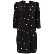 Buy Boutique by Jaeger Bee Print Dress, Black Online at johnlewis.com