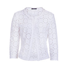 Buy Betty Barclay Lace Jacket, White Online at johnlewis.com
