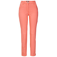 Buy Betty Barclay Stretch 4 Pocket Jeans, Pink Online at johnlewis.com