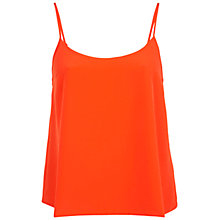 Buy Miss Selfridge Plain Cami Top, Orange Online at johnlewis.com
