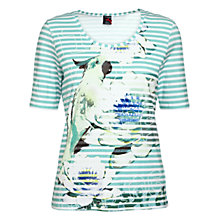 Buy Betty Barclay Stretch T-Shirt, Blue Online at johnlewis.com
