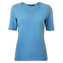 Buy Betty Barclay Cotton Stretch Short Sleeve Tee Online at johnlewis.com