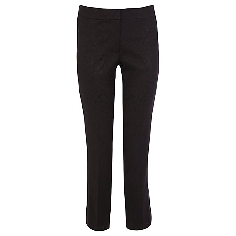Buy Coast Pippy Trousers, Black Online at johnlewis.com