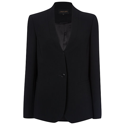Buy Jaeger Collarless Jacket Online at johnlewis.com