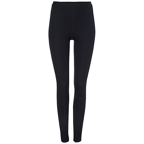 Buy Jaeger Skinny Stretch Trousers, Navy Online at johnlewis.com