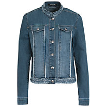 Buy Betty Barclay Short Denim Jacket, Blue Online at johnlewis.com