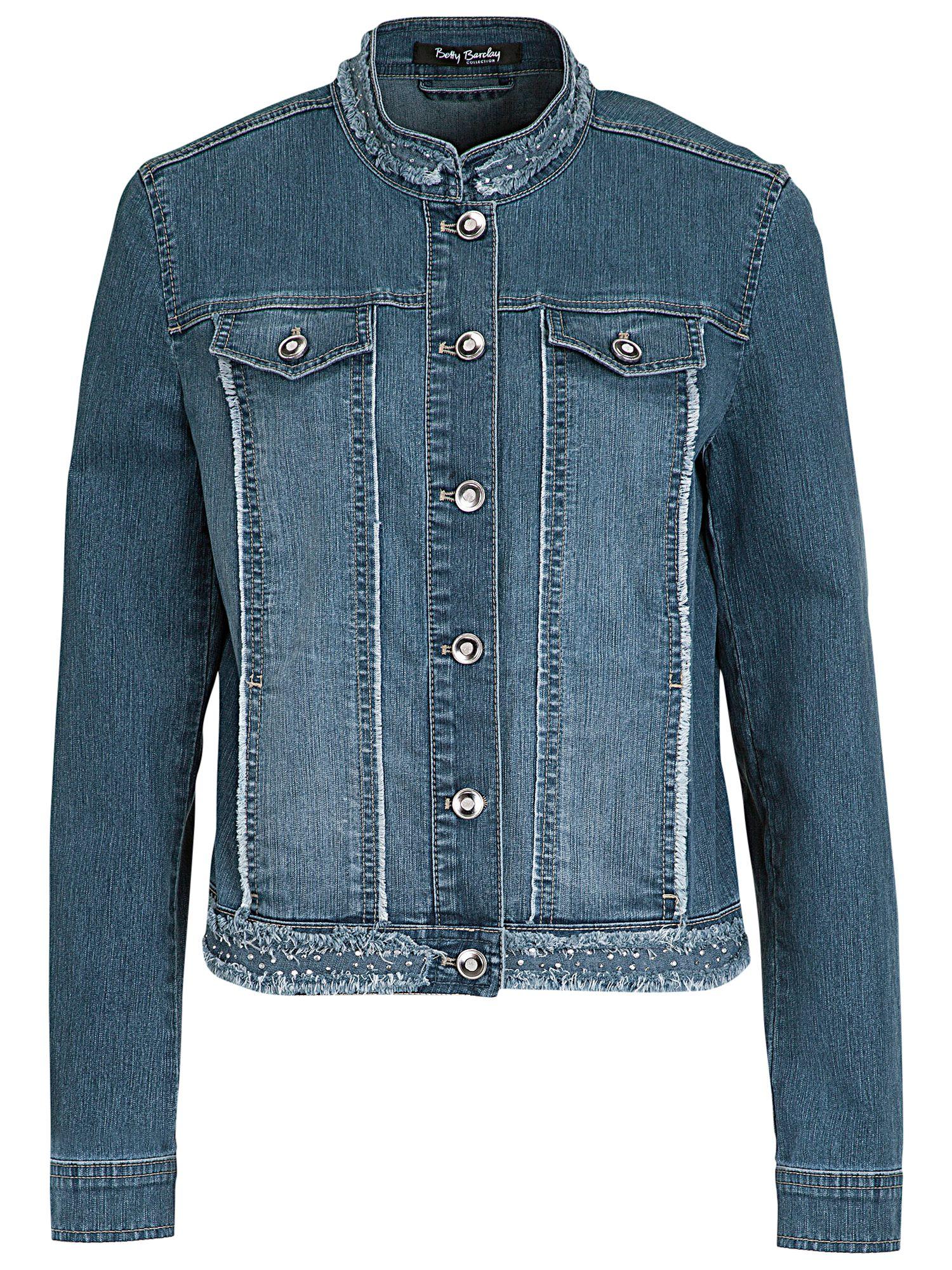 Betty barclay leather jacket