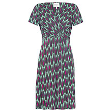 Buy allegra by Allegra Hicks Harper Dress, Chains Sage Online at johnlewis.com