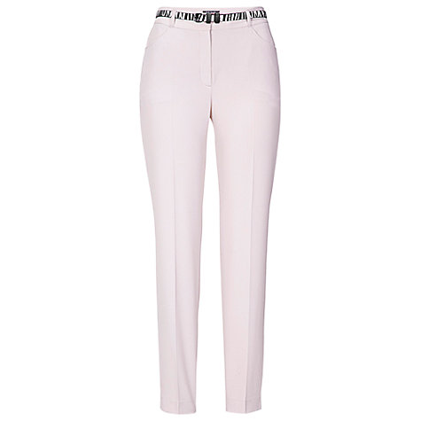 Buy Betty Barclay Cropped Trouser, Natural Online at johnlewis.com