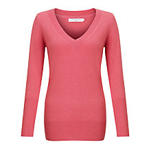 Buy John Lewis Deep V-Neck Cashmere Jumper Online at johnlewis.com