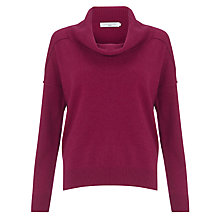 Buy John Lewis Boxy Roll Neck Cashmere Jumper Online at johnlewis.com