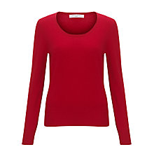 Buy John Lewis Scoop Neck Cashmere Jumper Online at johnlewis.com