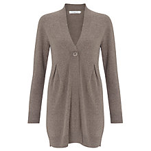 Buy John Lewis Long Tuck Cashmere Cardigan Online at johnlewis.com
