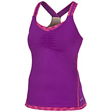 Buy Saucony Ruched LX Tank Top, Purple Online at johnlewis.com