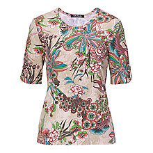 Buy Betty Barclay Flower Printed Tee, Print Online at johnlewis.com