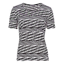 Buy Betty Barclay Stripe Wave T-Shirt, Print Online at johnlewis.com
