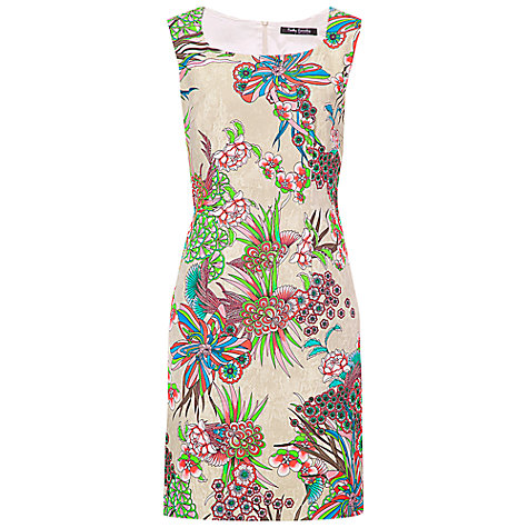 Buy Betty Barclay Flower Scoop Dress, Print Online at johnlewis.com