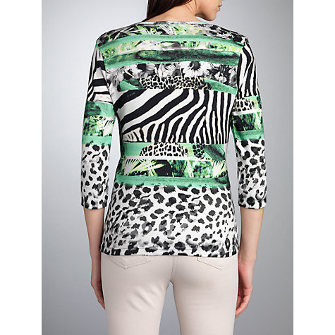Buy Betty Barclay Jungle Print T-Shirt, Green Online at johnlewis.com