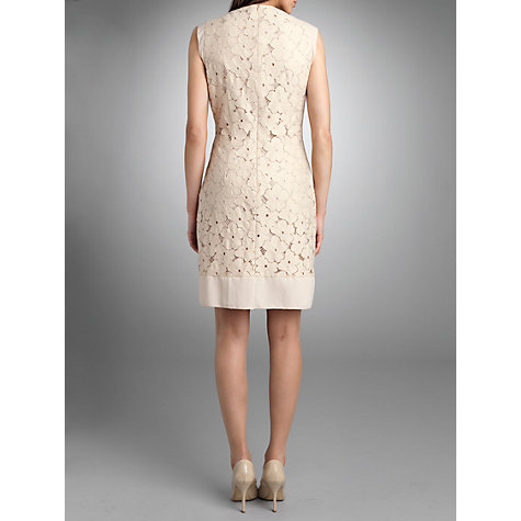 Buy Betty Barclay Lace Shift Dress, Natural Online at johnlewis.com