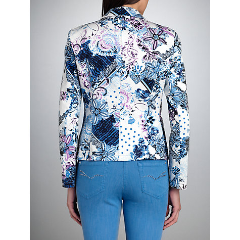 Buy Betty Barclay Cotton Print Jacket, Print Online at johnlewis.com
