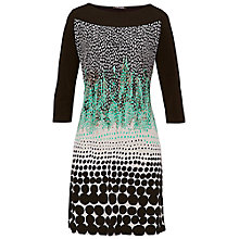 Buy Betty Barclay Contrast Animal Jersey Dress, Print Online at johnlewis.com