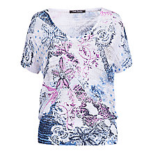 Buy Betty Barclay Floral Print Top, Multi Online at johnlewis.com