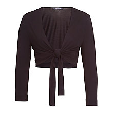 Buy Betty Barclay Tie Front Shrug, Black Online at johnlewis.com