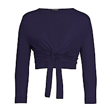 Buy Betty Barclay Tie Front Shrug, Navy Online at johnlewis.com