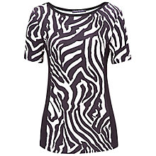 Buy Betty Barclay Long Zebra T-Shirt, Print Online at johnlewis.com