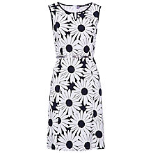 Buy Betty Barclay Sleeveless Daisy Dress, White Online at johnlewis.com