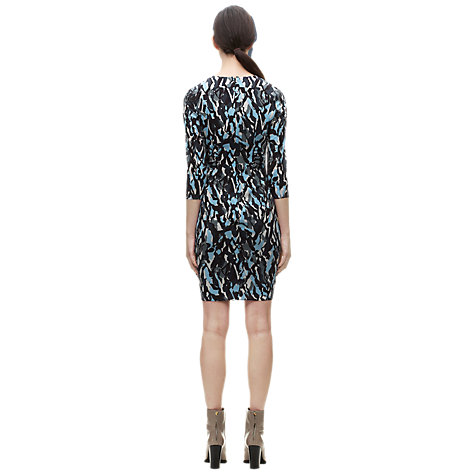 Buy Whistles Lorie Ripple Print Dress, Multicolour Online at johnlewis.com