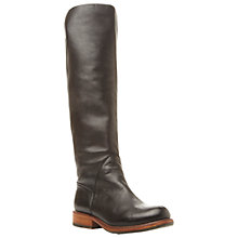 Buy Steve Madden Honour Leather Knee Boots Online at johnlewis.com