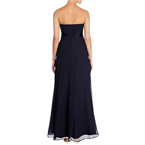 Buy Coast Michegan Maxi Dress, Navy Online at johnlewis.com