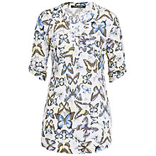 Buy Betty Barclay Butterfly Tunic Top, Print Online at johnlewis.com